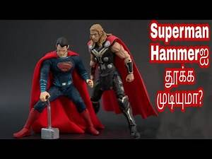 Can Superman Lift Thor's Hammer ???