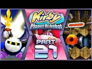 Kirby Planet Robobot (100%) - Part 21 - Meta Knightmare Returns | IS THIS BRAWL META KNIGHT?