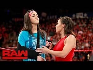 Bayley addresses her injury: Raw, Aug. 7, 2017