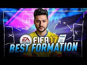 BEST FORMATION in FIFA 17 TUTORIAL / HOW TO WIN GAMES / ULTIMATE TEAM & H2H BEST FORMATIONS