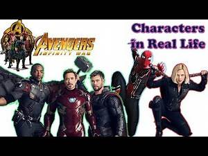 Avengers: Infinity War Characters in Real Life ★ Superheros Real Name And Age 2018