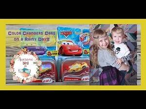 Rainy Day Fun - Color Changer Disney Pixar Cars Car Toys