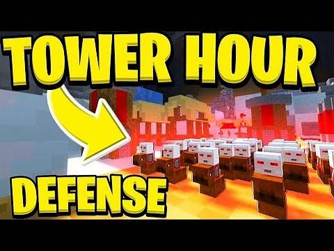 THE MOST INTENSE STRATEGY GAME IN MINECRAFT - TOWER HOUR | JeromeASF