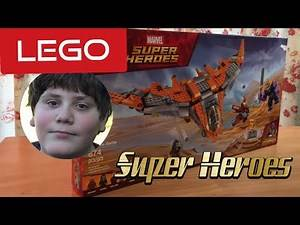 Lego Super Heroes Thanos: Ultimate Battle - Unboxing and review.