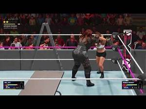 WWE TLC 2018 Highlights: Ronda Rousey Vs Nia Jax Full TLC Match WWE 2K19 PS4