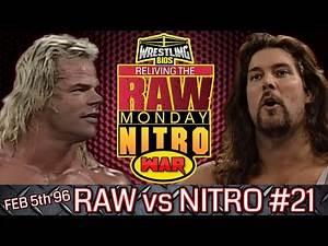 "Raw vs Nitro ""Reliving The War"": Episode 21 - Feb 5th 1996"
