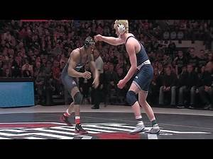 Big Ten Rewind: 2017 Wrestling - 184 LBs - Penn State's Bo Nickal vs. Ohio State's Myles Martin