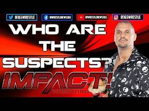 IMPACT Wrestling John E. Bravo and Rosemary WEDDING   Who attacked Bravo?   A look at the SUSPECTS!
