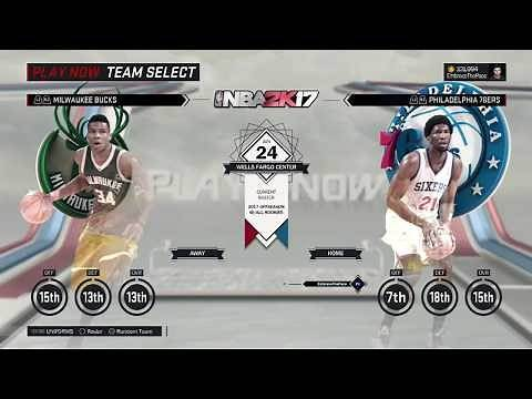 How to Use the 2017 Offseason Roster in MyLEAGUE, MyGM and Play Now! (NBA 2K17 PS4)