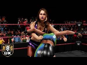 WWE 2K19 NXT UK KILLER KELLY VS EMMA