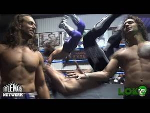 Will Allday vs Nathan Bradley (Loko Wrestling) Title Match Network