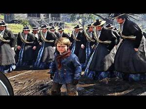 Red Dead Redemption 2 - 1 Man VS 50 Feminists (PC Mods)