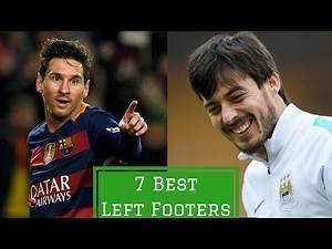 7 Best Left Footed Footballers Right Now | HITC Sevens