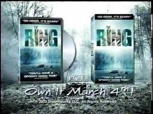 The Ring Movie 2000s VHS & DVD Commercial (2003) Noah Wylie