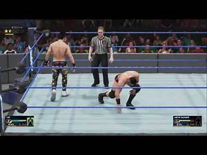 WWE 2K19 - TJ Perkins vs Ariya Daivari - Cruiserweight Battle
