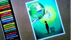 How To Draw Save Earth Poster Save Earth How To Draw Poster