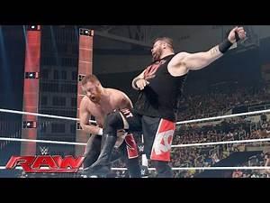 Sami Zayn & Cesaro vs. Kevin Owens & Chris Jericho: Raw, July 18, 2016