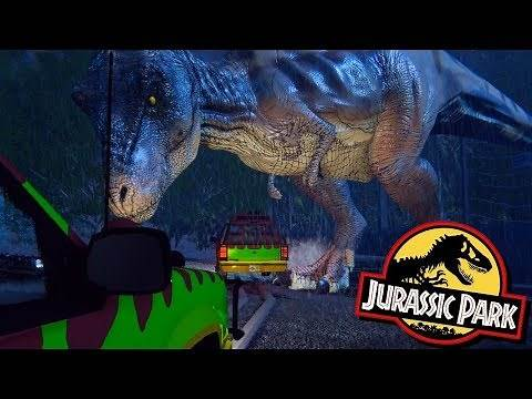 The Amazing Jurassic Park First Person Survival Game! - Fan Made T.Rex Breakout!