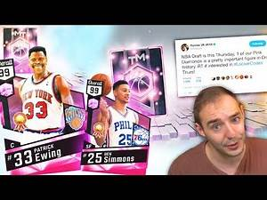NBA 2K17 My Team NEW PINK DIAMOND INCOMING?!?! DONT MISS OUT ON THE CODES!