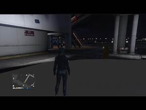 How To Kill Players Inside Of There Hangar In GTA ONLINE