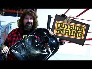 Outside the Ring - Inside the WWE warehouse with Mick Foley