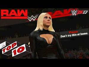 WWE 2K17 - RAW Top 10 Moments | Dec. 5, 2016