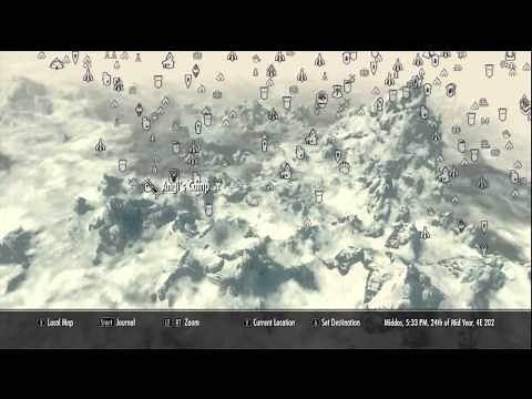 All/Every Location in Skyrim