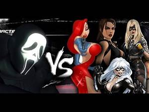 GhostFace vs Movie Characters - Dead Or Alive 5 MOD