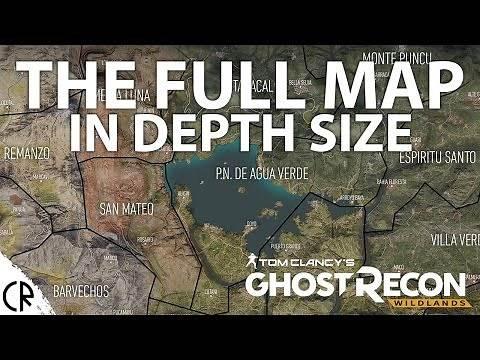 Full Official Map - Ghost Recon WIldlands - In Depth