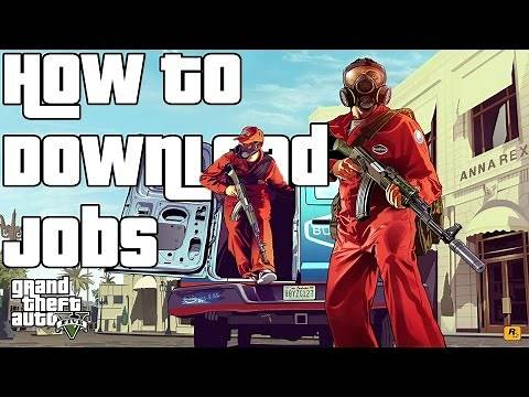 How to Download Jobs(GTA 5 Online)