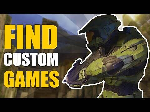 Halo Master Chief Collection - Find Custom Games!