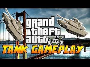 GTA V ONLINE BUYING THE TANK!