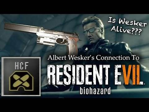 Resident Evil 7 | Albert Wesker's RE7 Connections | Is Wesker Alive? | Theory