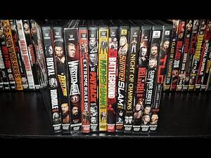 WWE 2015 PPV DVD Collection