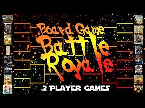 Board Game Battle Royale - 2 Player Games