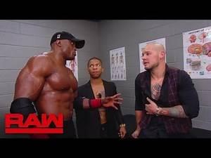 Baron Corbin rewards Bobby Lashley: Raw, Oct. 29, 2018
