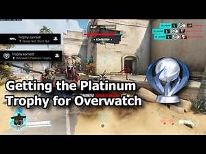 """Overwatch (PS4) """"Waste not, want not"""" Trophy and Platinum and how to get it (2020)"""