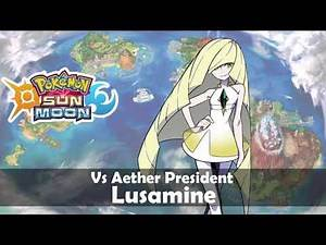 Vs Aether President Lusamine (Slow ver.) | Pokemon Sun and Moon OST