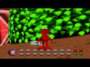 Elmo's Letter Adventure -- Random N64 Games