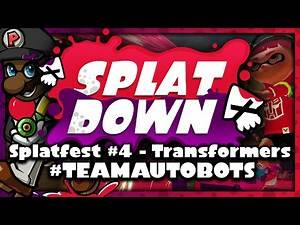 Splatoon Splatfest LIVE! - #TeamAutobots (Let's Play Splatoon Wii U)