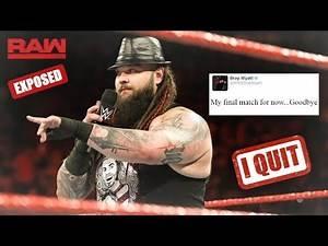 "BREAKING: Bray Wyatt Confirms That ""He"" Is Leaving The WWE (WWE RAW)"