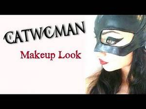 The BEST Catwoman Makeup Transformation EVER !!!!!!!!!!!