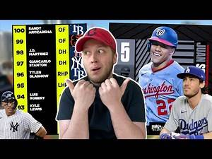 Reacting to MLB's TOP 100 Player Rankings