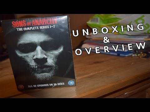 Sons Of Anarchy DVD Boxset | Unboxing