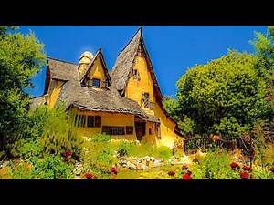 A Walk Around The Beverly Hills Witch's House, aka The Spadena Home