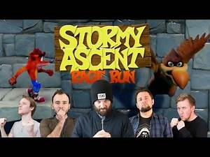 Crash Bandicoot Stormy Ascent Rage Run