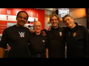 British legend Johnny Saint visits the WWE Performance Center: March 25, 2016