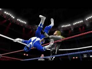 WWE 2K16 Superman and Thor vs Mighty Morphin Power Rangers (Round 3)