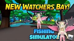 How to get the MYTHIC SEABEAR! in Fishing Simulator! Watchers Bay Update!