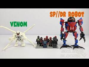 Lego Spider-Man: Into the Spider-Verse, 8 in 1 to Peni Parker's SP//DR Robot(knock-off)